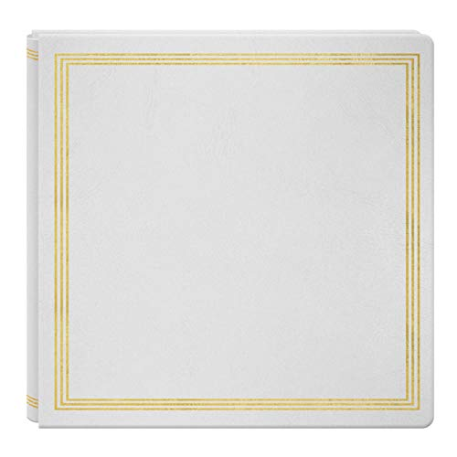 Large Magnetic Page X-Pando Photo Album, White