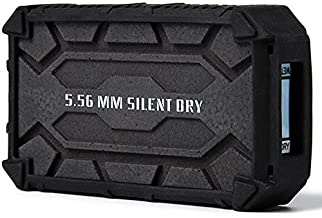 SD SILENT DRY Pioneer Gun Safe Dehumidifier, Wireless, Reusable, Portable Dryer, Safe mini mold remover for Gun / Camera / Instrument, 1 pieces in one package, SWAT Black