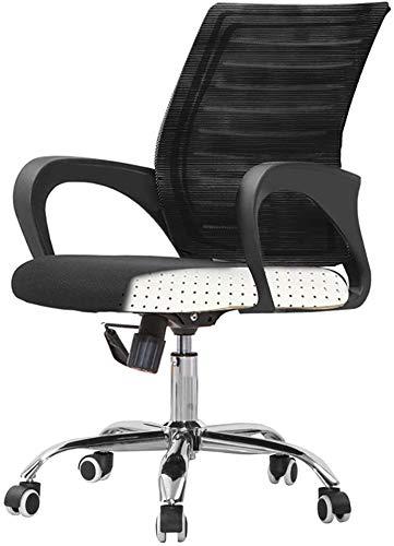 Silla Giratoria de Oficina Silla Silla de oficina Escritorio Silla de oficina Silla con respaldo alto grande asiento y función de inclinación silla giratoria Ejecutivo ordenador, silla del juego de ca