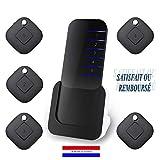 KWIM'S France Localisateur de clés d'objets Anti-Perte Téléphone - Retrouver Ses clefs【Piles...