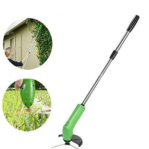 Great Deal! HS-MANWEI Garden Tool Grass Trimmer Park Steel Edging Cordless Weed Cutter Portable Lawn...