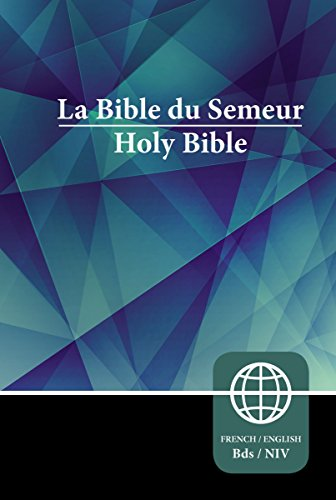 Semeur, NIV, French/English Bilingual Bible, Hardcover