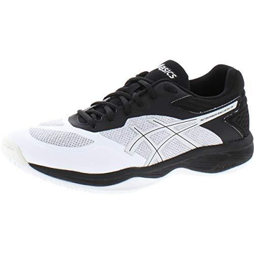 ASICS Women's Netburner Ballistic FF Volleyball Shoes, 7, White/Silver