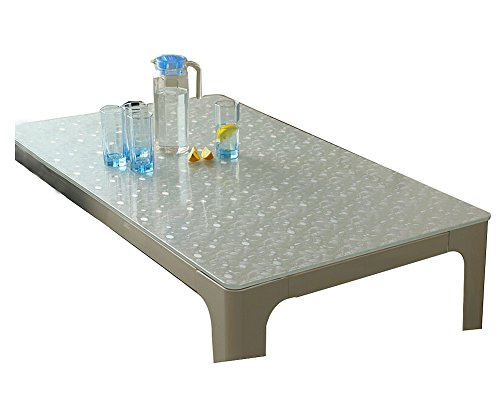 Upscale Transparent Rechteckiger Tisch Mat Durable Schreibunterlage, 60 * 120cm