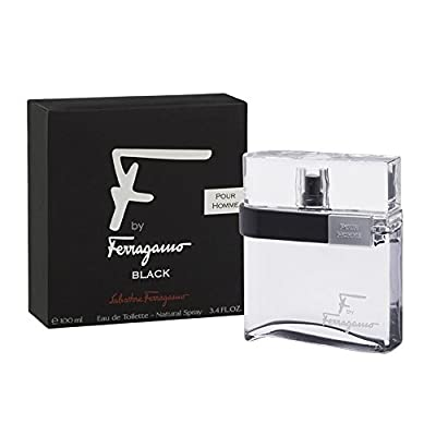 Ferragamo F Black For Men Eau De Toilette Spray
