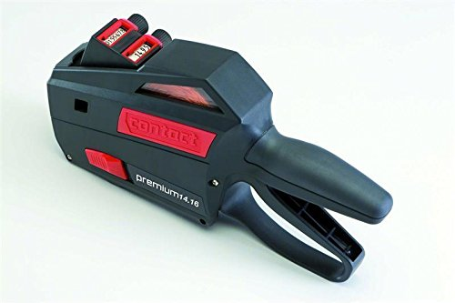 Prijs pistool/Labeller Contact 24.19 DT Premium 2 – ZEILER 12 + 12 cijfers – 32x19 mm
