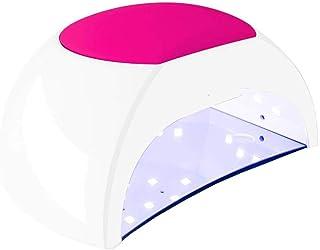 Secador De Uñas con Lámpara LED UV De 48 W con Sensor Automático, Máquina De Curado En Gel Profesional para Uñas De Los Pies con Ajuste De 4 Temporizadores 10 S, 30 S, 60 S, 90 S