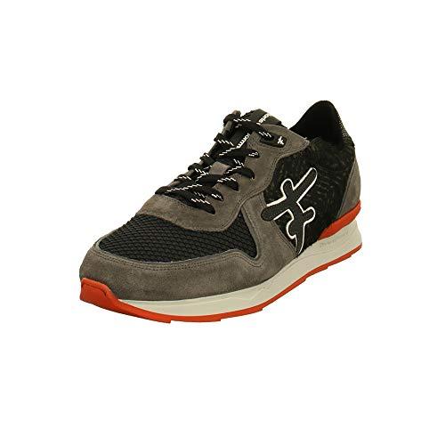Floris van Bommel heren Sneaker Premium Sneaker 16241-03 grijs 716611