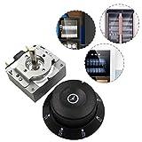 LIJUMN Interruptor de tiempo del temporizador 60 minutos Controlador de tiempo del interruptor de temporizador 60 M para horno de microondas electrónico decent frugal