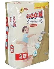 Goon Premium Soft Külot Bez, 3 Beden, Ekonomik Paket, 52 Adet, Beyaz