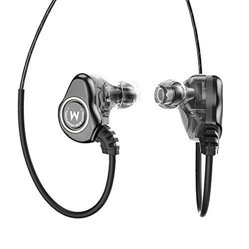 In-ear-koptelefoon Bedrade oortelefoon Oordopjes Sport HiFi-microfoon In-ear ruisonderdrukkende headsets