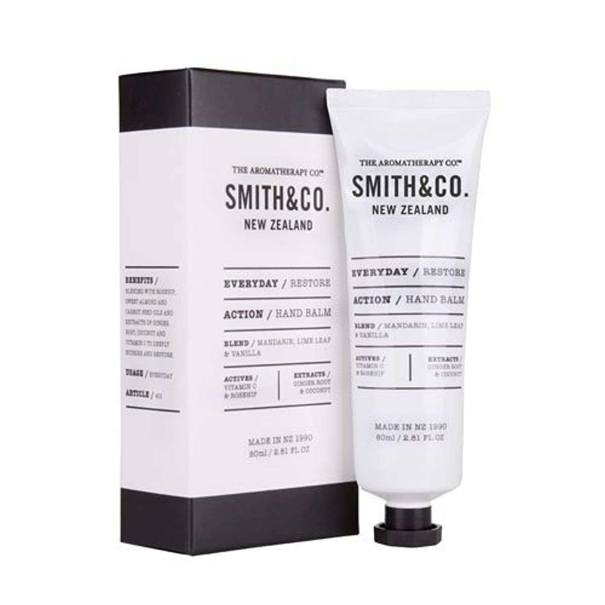 進化スポンサー慣性Smith&Co. スミスアンドコー Hand Cream ハンドクリーム Restore リストア