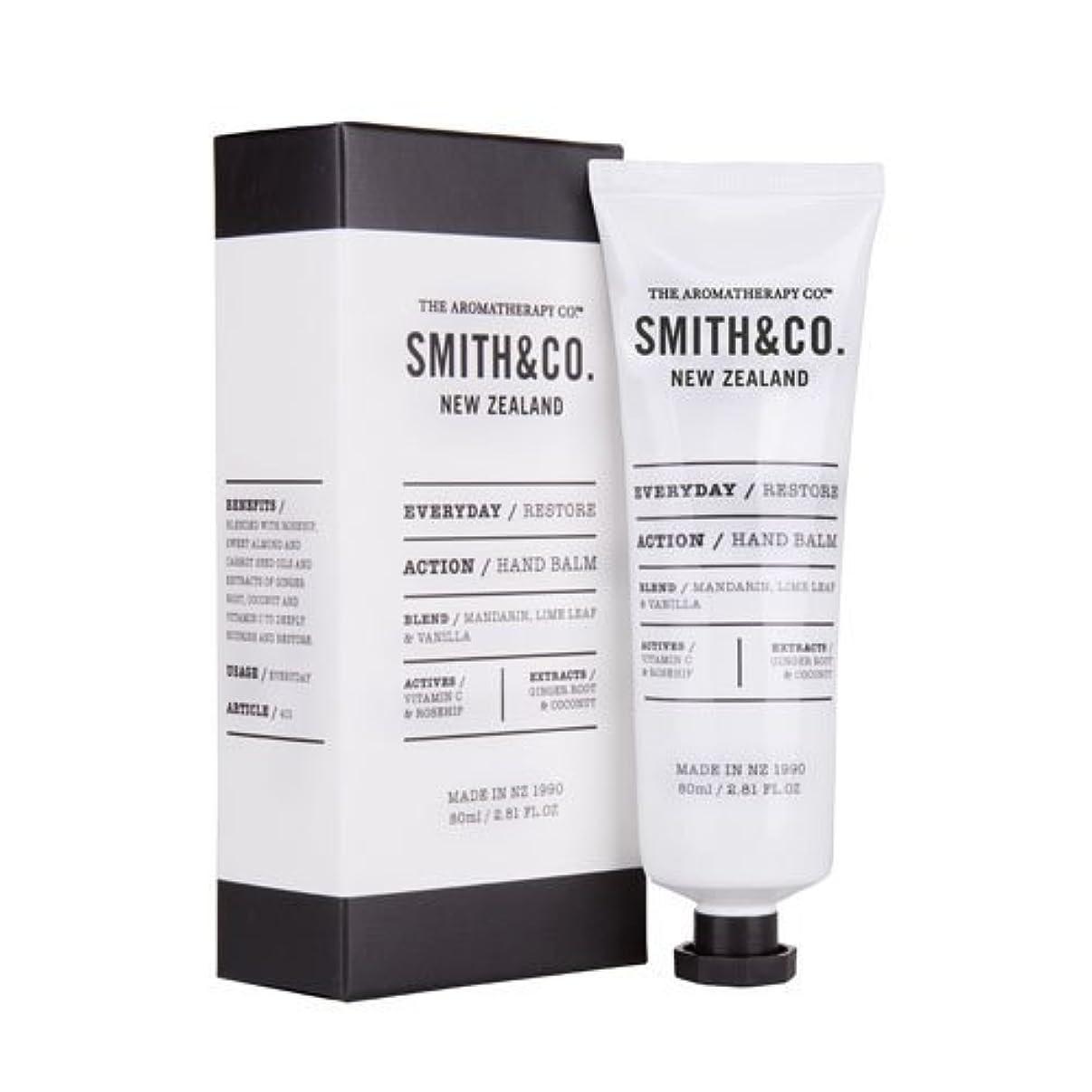 ナラーバーバリー重大Smith&Co. スミスアンドコー Hand Cream ハンドクリーム Restore リストア