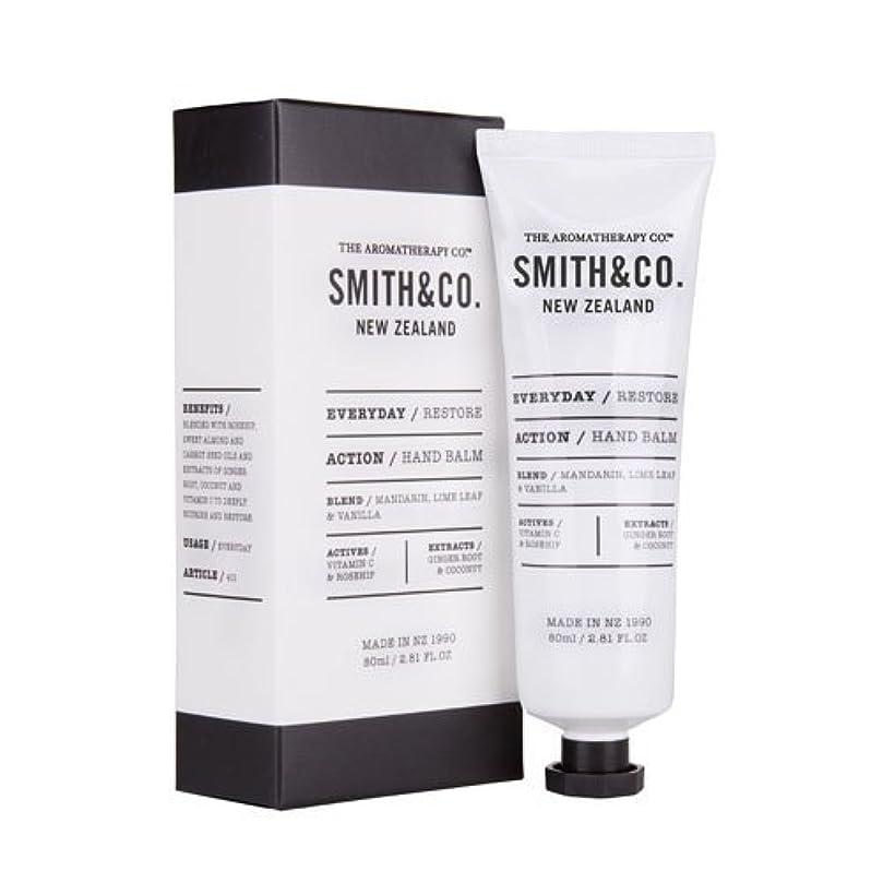 推測する見込み黒Smith&Co. スミスアンドコー Hand Cream ハンドクリーム Restore リストア