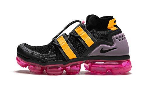 Nike Men's Air Flyknit FK Utility Black/Gridiron/Pink Blast/Black AH6834-006 (Size: 8)