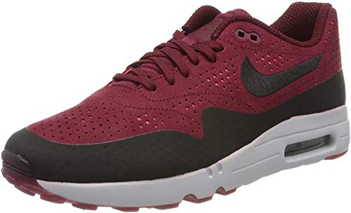 Nike Air Max 1 Ultra 2.0 Moire, Sneaker Uomo, Rosso (Rougeéquipe/rougesolaire/platinepur/Noir), 41 EU