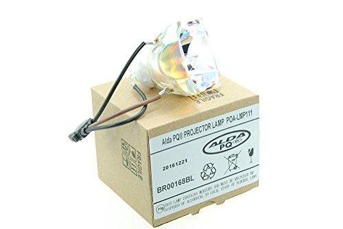 Alda PQ Premium, Beamerlampe / Ersatzlampe POA-LMP111 / 610 333 9740 / POA-LMP121 / 610-337-9937 für SANYO PLC-WU3800, PLC-WXU30, PLC-WXU3ST, PLC-WXU700 Projektoren, nackte Birne ohne Gehäuse