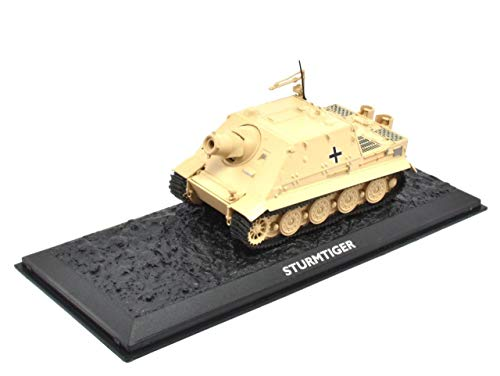 Atlas Edition Ultimate Tank Sturmtiger Fertigmodel Maßstab 1:72 Die-Cast Metall