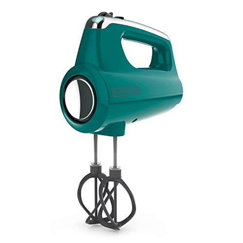Black+Decker Premium Hand, 5-Speed Mixer, Teal