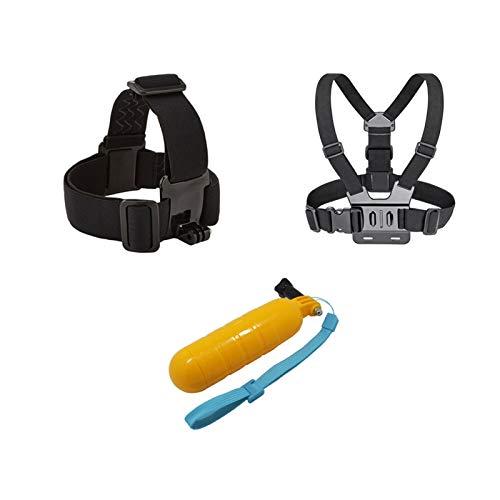 Cofre + Cinturón de Cabeza + Flotación de Bobber, Monte para Gopro Hero 5 4 Accesorios Conjunto SJCAM SJ4000 Action Sport Camera Go Pro Yi 4K Go Pro