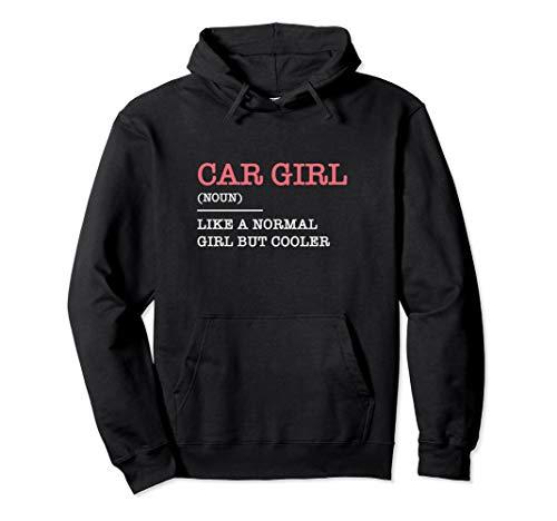 Car Girl Rennfahrer Kart Geschenk Auto Tuning Pullover Hoodie