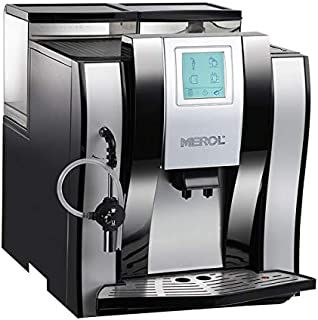 Full-Auto Coffee Machine, Coffee Makers Espresso Coffee with Warm Cup Board and Touch Screen Automatic Clean Coffee Machine