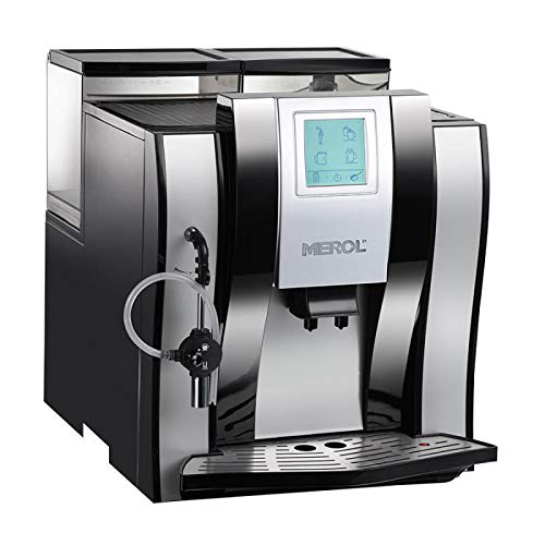 Affordable Full-Auto Coffee Machine, Coffee Makers Espresso Coffee with Warm Cup Board and Touch Scr...