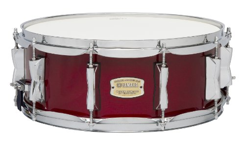 Yamaha Stage Custom Birch 14x5.5 Snare Drum, Cranberry Red