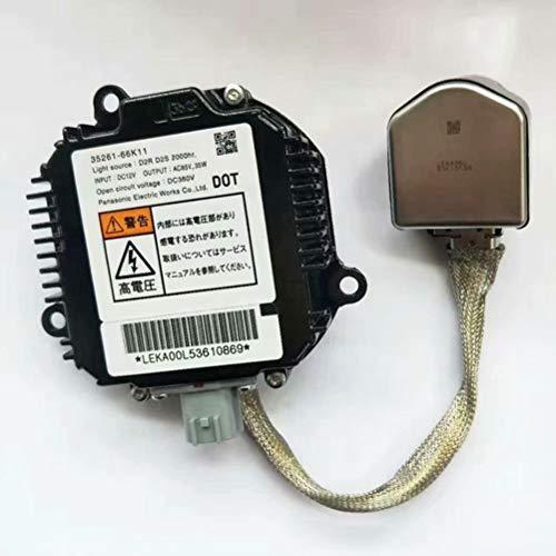 D2S 35261-66K11 D2R HID-EVG-STEUEREINIT Compatible avec QX56 FX35 FX50 350Z 370Z GT-R