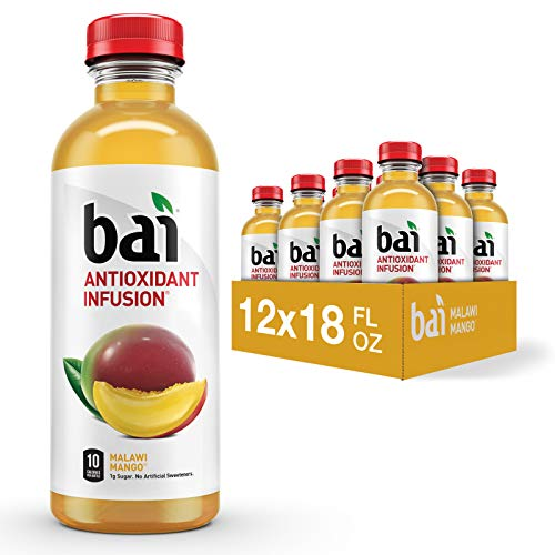 Bai Flavored Water, Malawi Mango, Antioxidant...