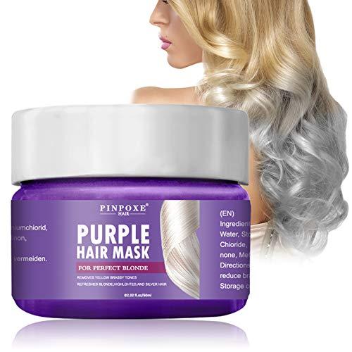 Masque Capillaire Violet Soins capillaires Intense Protein Treatment - Pour cheveux extrêmement endommagés - 50 ml (Ensemble de 12)