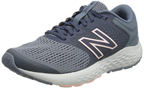 New Balance Women's 520 V7 Running Shoe, Grey/Silver/Teal, 7.5