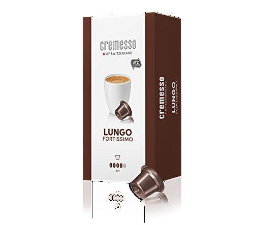 Cremesso of Switzerland Modell: Lungo Fortissimo Inhalt: 3x16 Kapseln