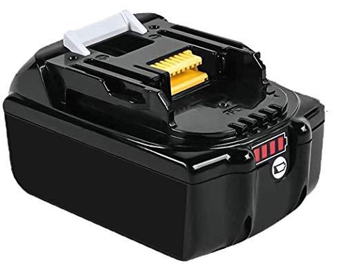 Batería de repuesto Boetpcr para 18V BL1860B BL1860 BL1830 BL1840 BL1845 BL1815 BL1820 BL1835 194205-3 194204-5 LXT-400