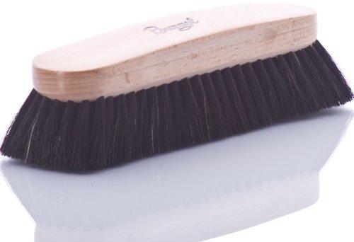 Burgol Burgol Rosshaar-Polierbürste, schwarz, 30 mm Haarlänge, Handeinzug