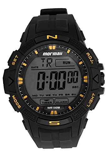 Relógio Digital Wave Mormaii, MO5001/8Y, Preto, Masculino