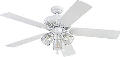 Prominence Home 51594 Saybrook Ceiling Fan, 52, White