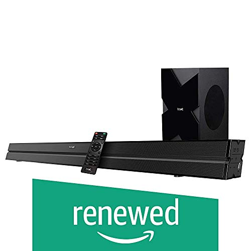 (Renewed) boAt AAVANTE Bar 1500 Wireless Bluetooth Soundbar Speaker with Subwoofer and...