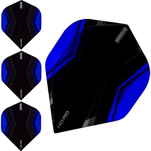 abcdarts Unisex Erwachsene Pentathlon Hd150 Xwing Dart Flights, Blau, Klassische EU