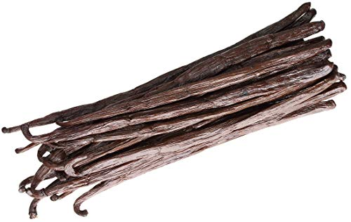 25 Vanilla Beans  Whole Gourmet Grade A Pods for Baking Homemade Extract Brewing Coffee Cooking  Tahitian