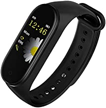M4 band Fitness Activity Tracker Wearfit, Heart Rate Monitor, Smartwatch Bracelet with iOS and Android, Blood Pressure IP6...