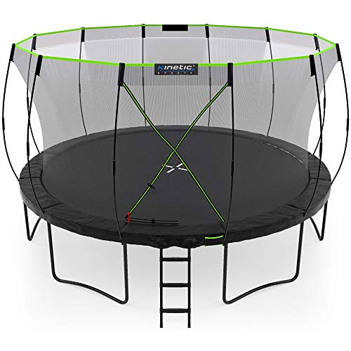 Kinetic Sports Gartentrampolin TUP1400, 427 cm, Black