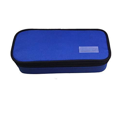 Pencil Case, LOYMR Student Pen Pencil Case Desktop Office Storage Organizer Pen Pencil Holder Organizer Basket Coin Purse Pouch Cosmetic Makeup Bag(Blue)