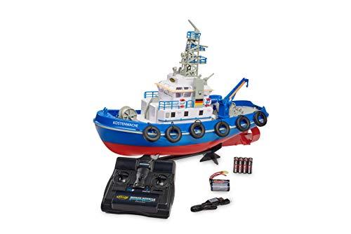 Carson Küstenwache TC-08 2.4G 100% RTR, Ferngesteuertes, RC Boot, mit Funktionen, inklusive Fernsteuerung, Sicherheitsschaltung, 500108032, Blau