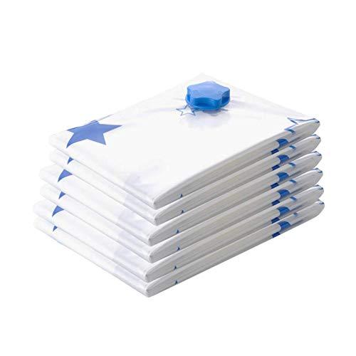 Paquete de 9 Bolsa de almacenamiento al vacío Bolsa de almacenamiento al vacío de ropa Embalaje Bolsa organizadora de equipaje de viaje
