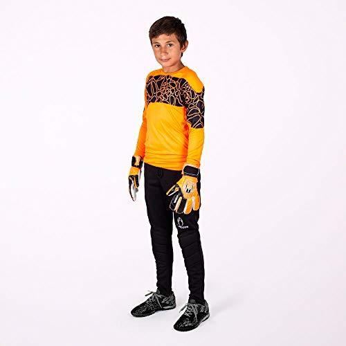HO Soccer Kid Keeper Set Furious Orange Conjuntos De Portero, Unisex niños, Naranja, 12