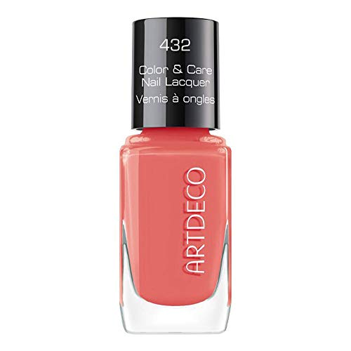 ARTDECO Color & Care Nail Lacquer, Pflegender Nagellack, Nr. 432, living coral