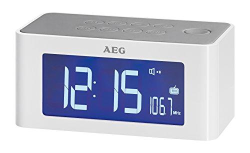 AEG MRC 4140 Induktionstechnik Uhrenradio weiß