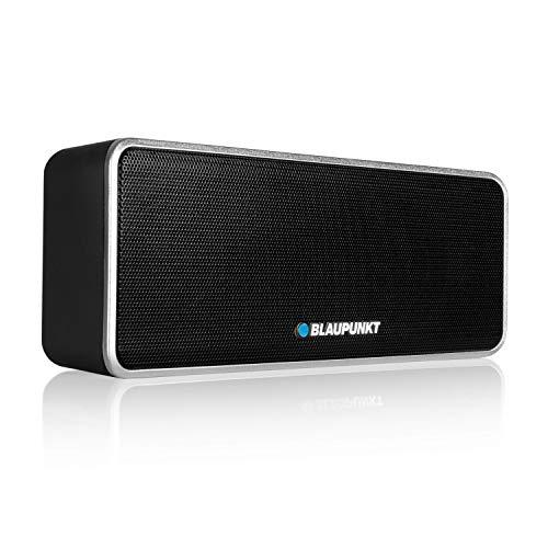 BLAUPUNKT BT 7 BK Altavoz Bluetooth con micrófono, TWS, Manos Libres, batería...