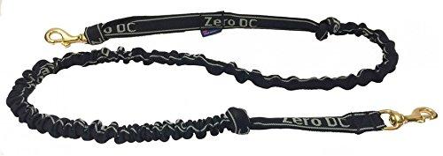 Leine mit Ruckdämpfer Zero DC 2,7m Jöringleine aus Gurt-/Schlauchband für Zughundesport Dogscooting, Bikejöring, Canicross
